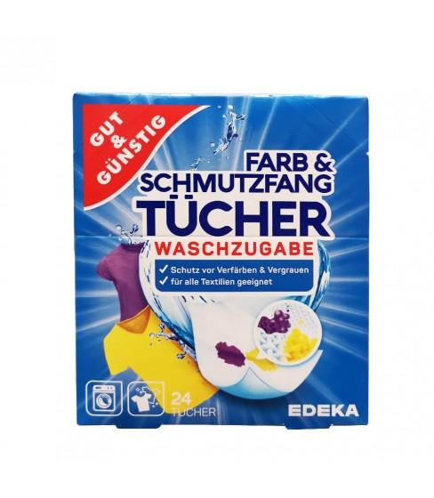 Gut & Günstig chusteczki wyłapujące kolor 24 szt.