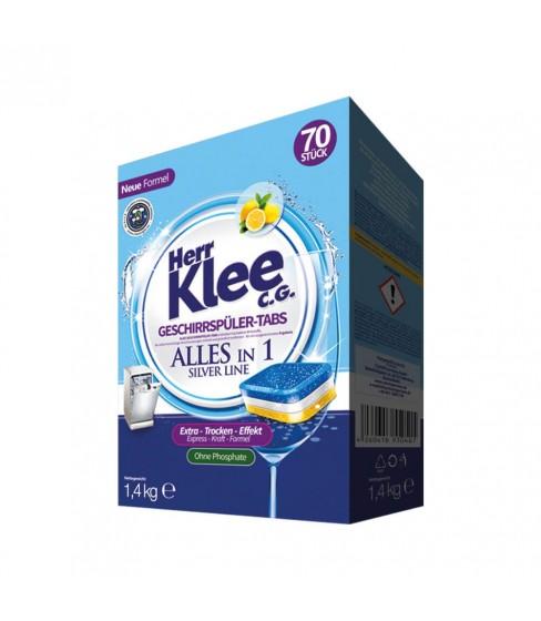 Tabletki do zmywarki Herr Klee Silver Line 70 sztuk