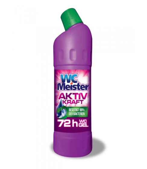 Żel do toalety WC Meister Aktiv Kraft Pink 1 l
