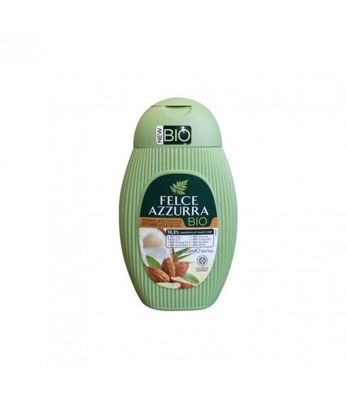 Żel pod prysznic Felce Azzurra BIO Almond&Coconut 250 ml