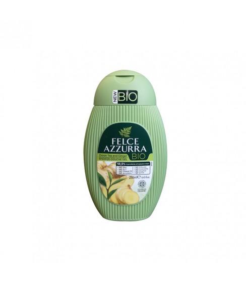 Żel pod prysznic Felce Azzurra BIO Green Tea&Ginger 250 ml