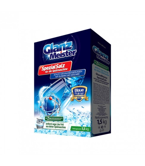 Sól do zmywarki GlanzMeister +Zn BlauePolimer 1,5 kg