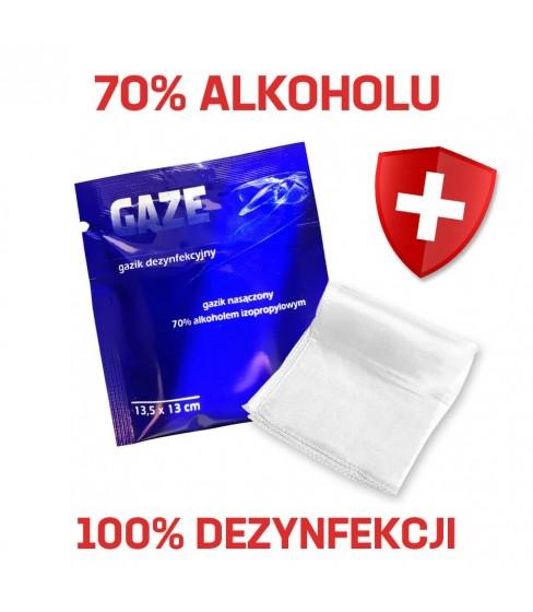Gazik do dezynfekcji 70% alkoholu A300