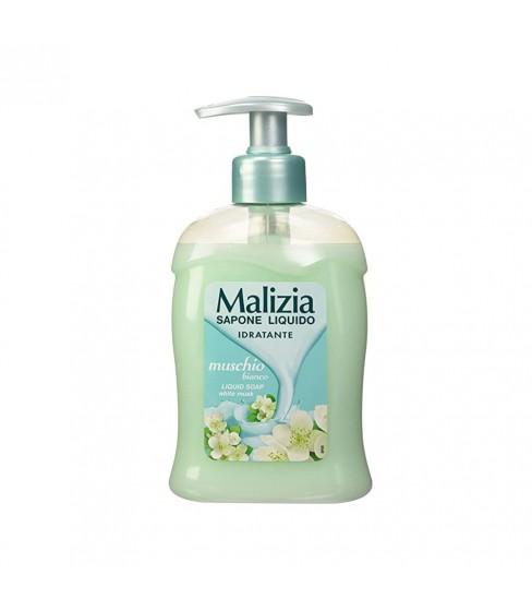 Mydło w pompce Malizia Muschio Bianco 300 ml