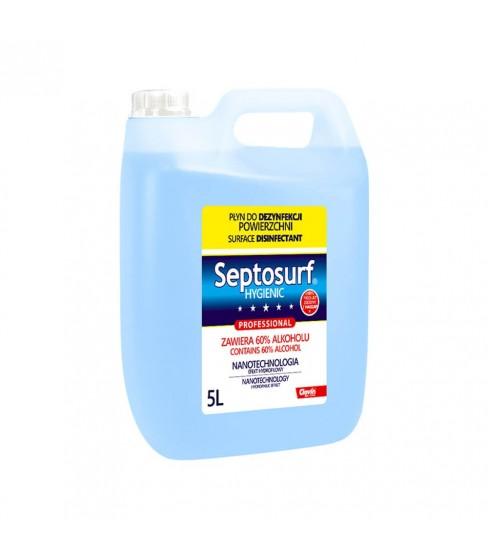 Septosurf Hygienic płyn do dezynfekcji powierzchni 5 L 60% alkoholu
