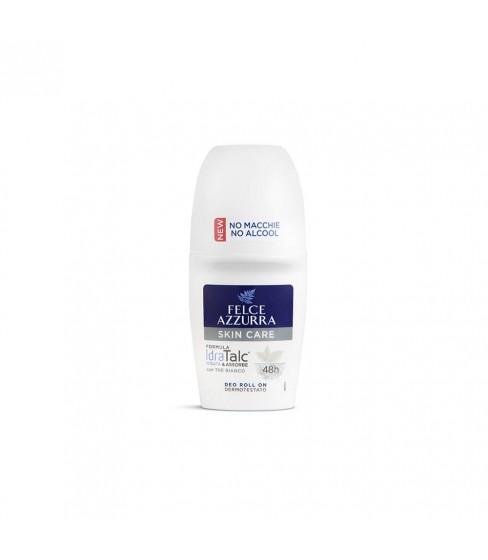 Antyperspirant Deo Roll On Felce Azzurra Skin Care 50 ml