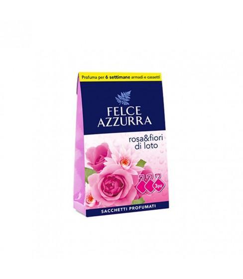 Felce Azzurra torebki aromatyczne Rose&Lotus Flower 3 szt.