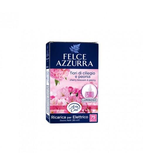 Felce Azzurra elektryczny odświeżacz powietrza Peony&Cherry Blossom 20 ml Refill