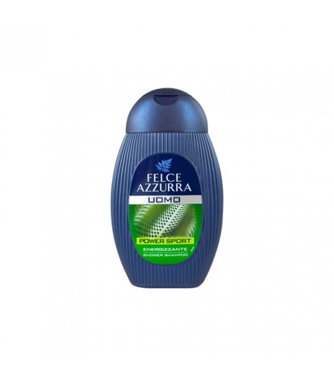 Żel pod prysznic Felce Azzurra Men 2w1 Power Sport 250 ml