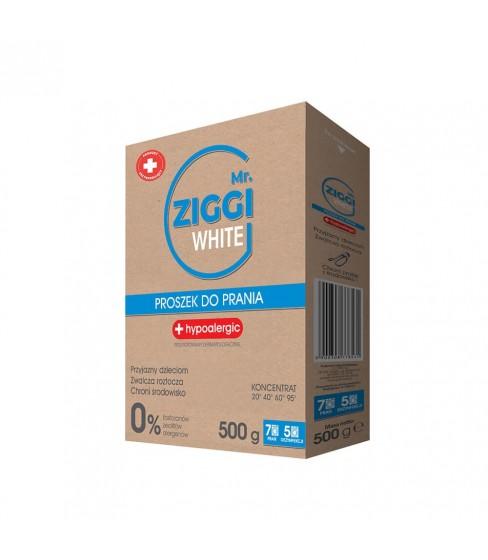 Mr. ZIGGI White proszek do prania 500g