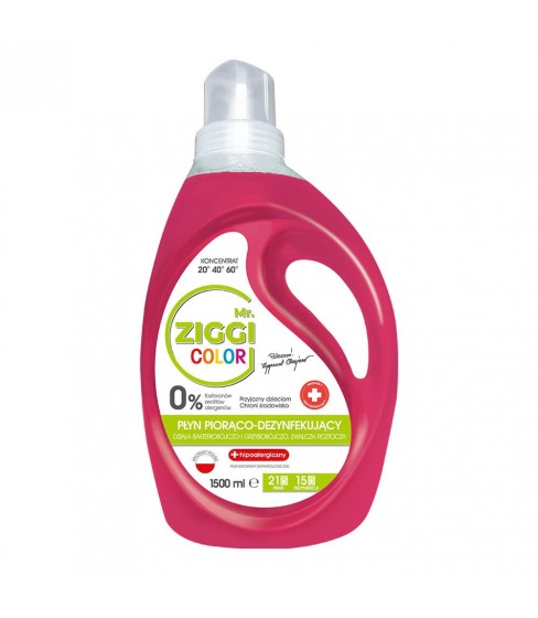 Mr. ZIGGI Color żel do prania 1500 ml