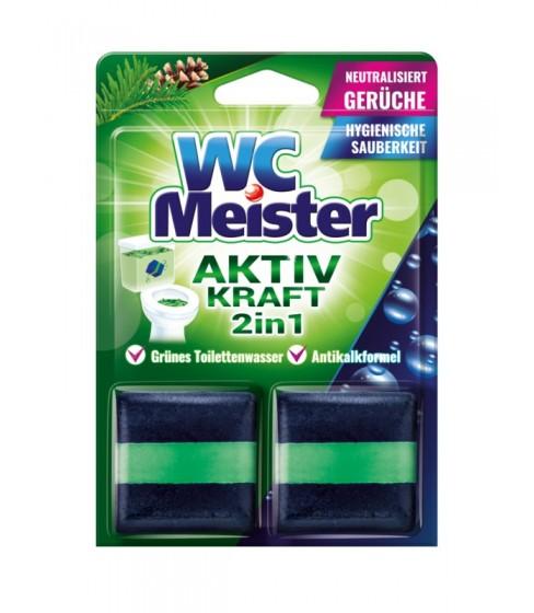 Kostka barwiąca do spłuczki WC Meister - zapach lasu