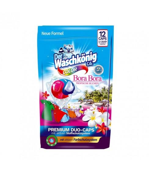 Der Waschkönig C.G. Bora Bora Color DUOCAPS kapsułki do prania 12 sztuk