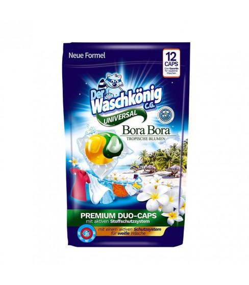 Der Waschkönig C.G. Bora Bora Universal DUOCAPS kapsułki do prania 12 sztuk