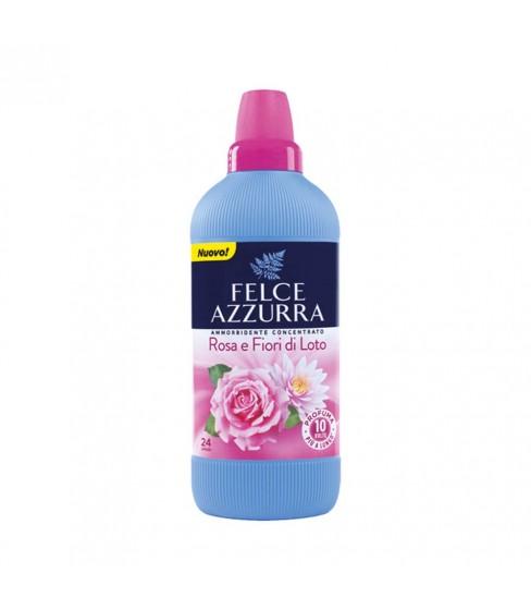 Felce Azzurra Rose&Lotus Flower koncentrat do płukania tkanin 600 ml - 24WL