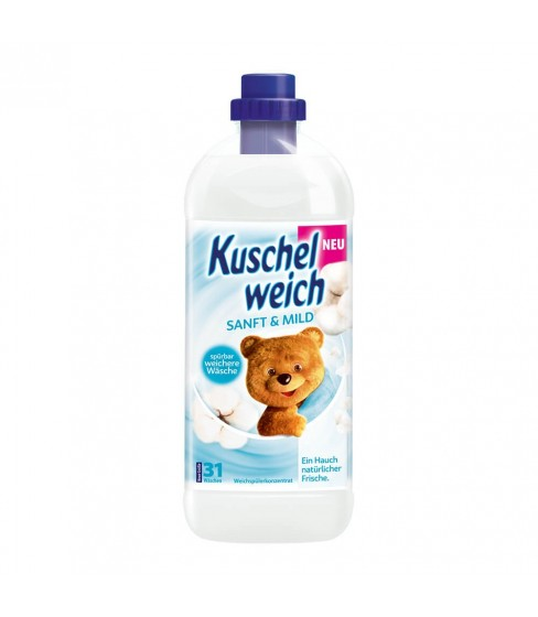 Kuschelweich Sanft & Mild płyn do płukania 1 L - 34 WL