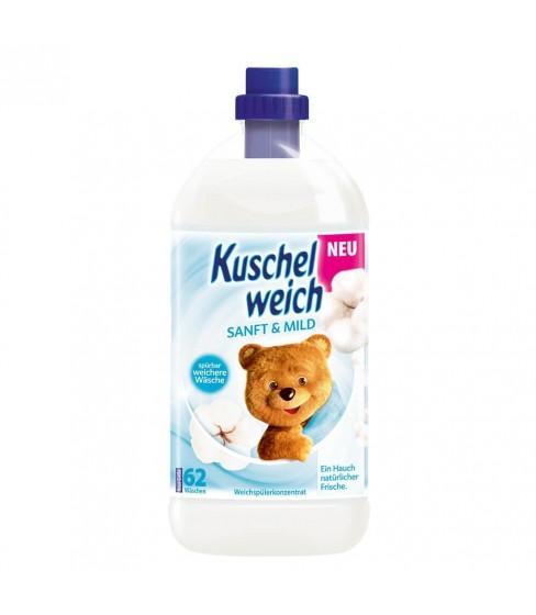 Kuschelweich Sanft & Mild płyn do płukania 2 L - 62 WL