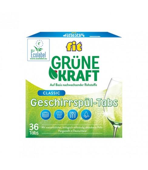 Fit GrüneKraft tabletki do zmywarki 36 szt.