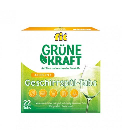 Fit GrüneKraft All in One tabletki do zmywarki 22 szt.