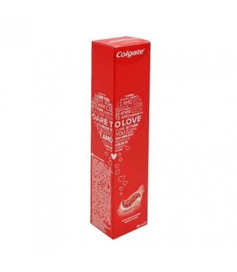 Colgate Dare To Love pasta do zębów z drobinkami w kształcie serc 98 ml