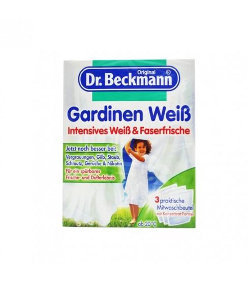 Dr. Beckmann Gardinen Weiß Mitwasch Portionsbeute proszek do firan 3x40 g