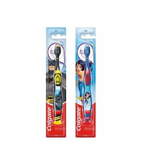 Colgate Batman/Wonder Woman szczoteczka do zębów 6+ lat