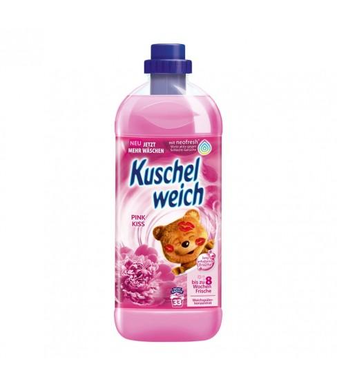 Kuschelweich Pink Kiss płyn do płukania 1L- 33 WL