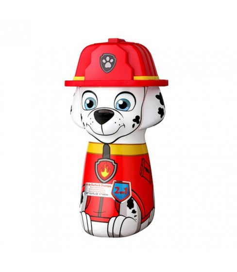 Psi Patrol Marshall żel pod prysznic 2w1 400 ml butelka 3D