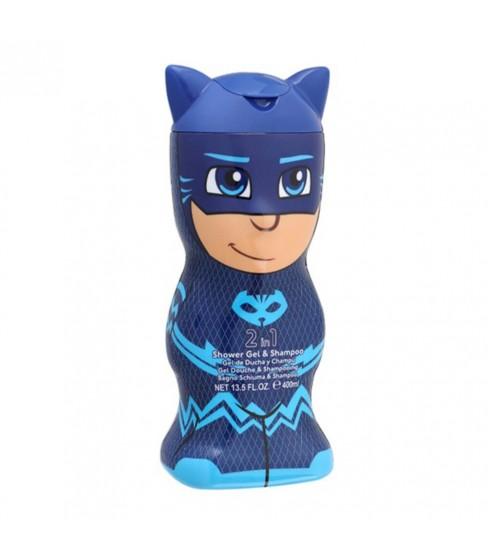 Pidżamersi Catboy żel pod prysznic 2w1 400 ml butelka 3D