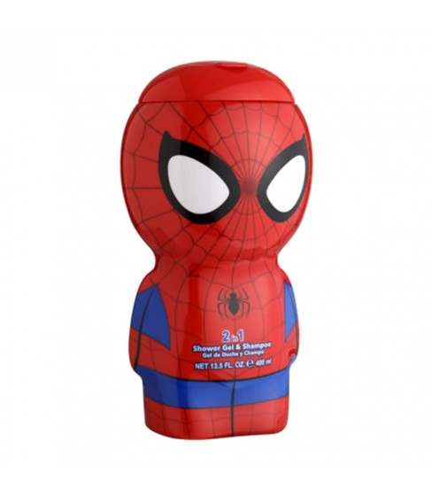 Spider-Man żel pod prysznic 2w1 400ml butelka 3D