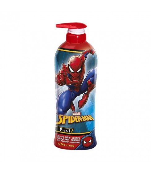 Spiderman żel pod prysznic + szampon 2w1 1000 ml