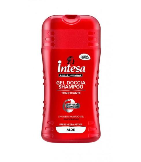 Intesa Red 2w1 żel pod prysznic/szampon z aloesem 250ml