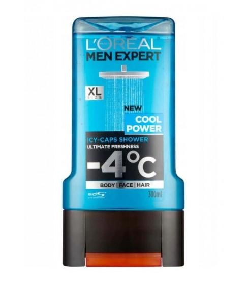 L'Oreal żel pod prysznic Cool Power 300ml