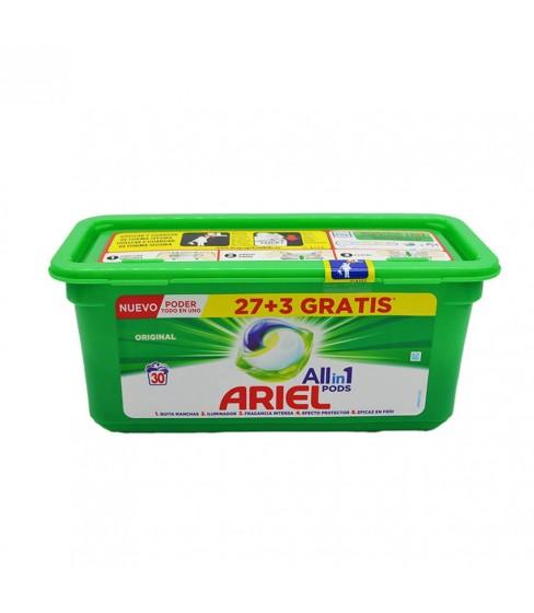 Ariel kapsułki do prania 3w1 27+3 szt. Original