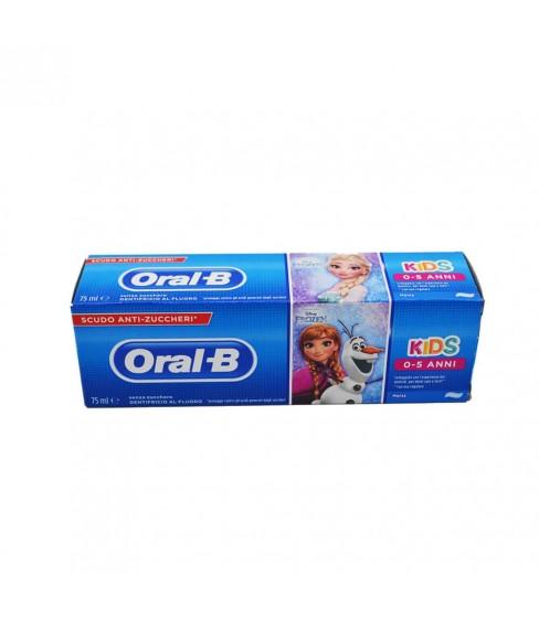 Oral B pasta do zębów dla dzieci 0-5lat 75ml Frozen wersja IT