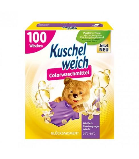 Kuschelweich proszek do prania Glucksmoment Color 5,5 kg - 100 WL