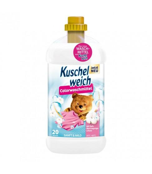 Kuschelweich płyn do prania Sanft&Mild Color 1,32l - 20 prań