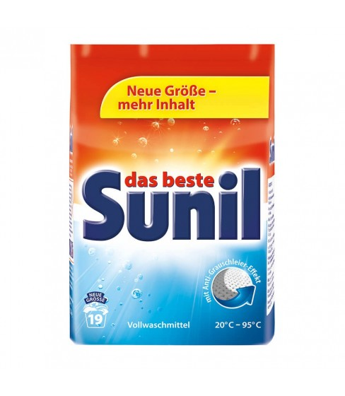 Sunil proszek do prania Universal 1,216kg -19 prań