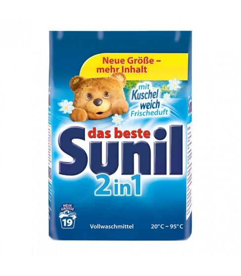 Sunil proszek do prania 2w1 1,216kg - 19 prań