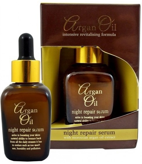 XBC Serum naprawcze na noc z olejkiem arganowym 50ml