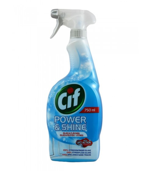 Spray do szyb Cif Power & Shine Glas 750 ml
