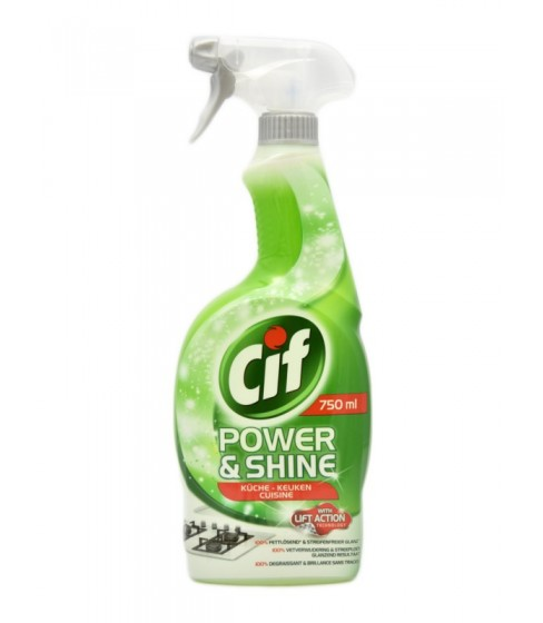 Spray Do Kuchni Cif Power Shine Küche 750 Ml Dystrybucja