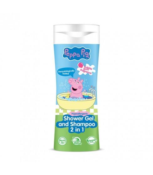 Świnka Peppa żel pod prysznic i szampon 2w1 300 ml - KARTON 25 szt.