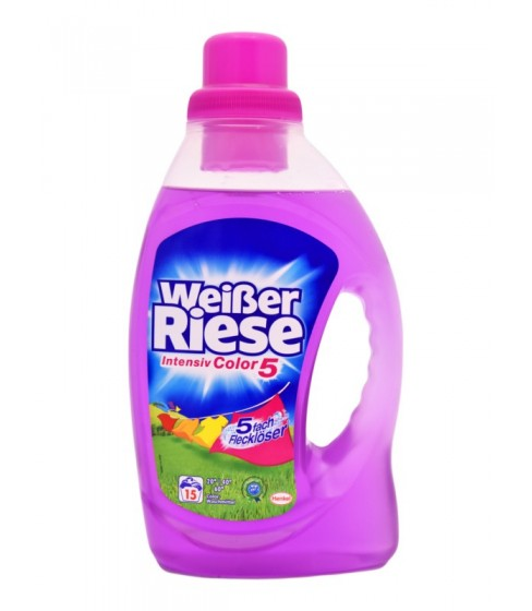 Żel do prania Weisser Riese Color 1,095 l - 15 WL