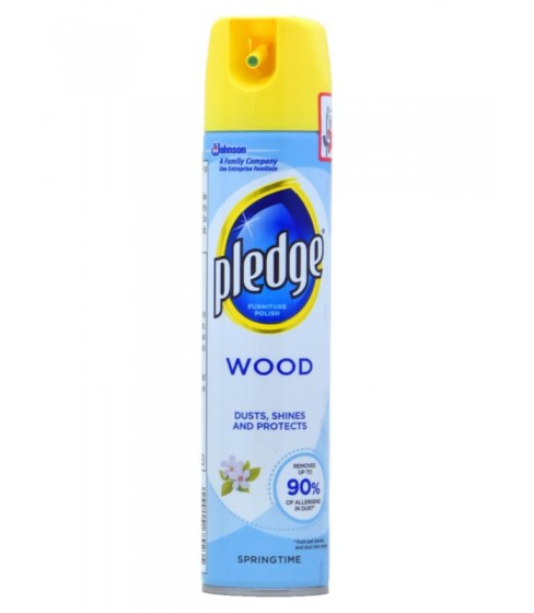 Spray do czyszczenia mebli Pledge Wood Springtime 250 ml