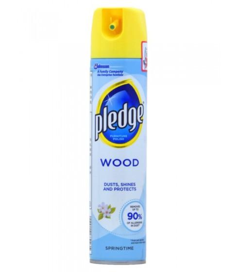 Spray do czyszczenia mebli Pledge Wood Springtime 250 ml