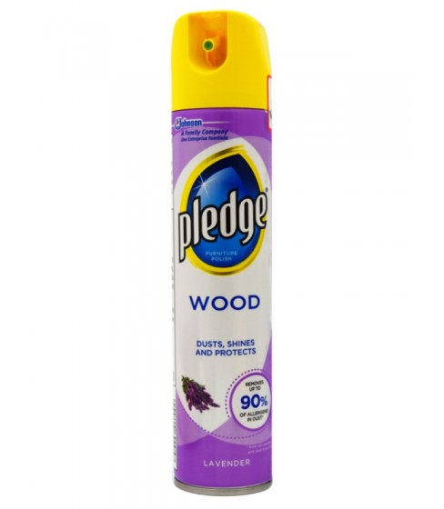 Spray do czyszczenia mebli Pledge Wood Lavender 250 ml