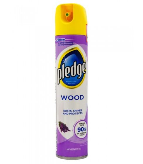 Spray do czyszczenia mebli Pledge Wood Lavender 250 ml