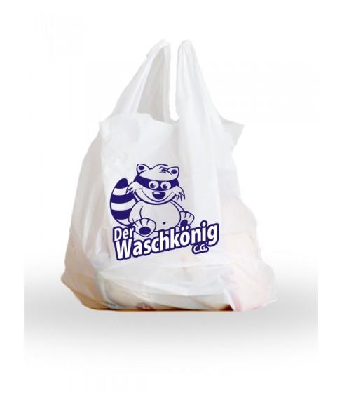 Reklamówka jednorazowa Der Waschkönig C.G.