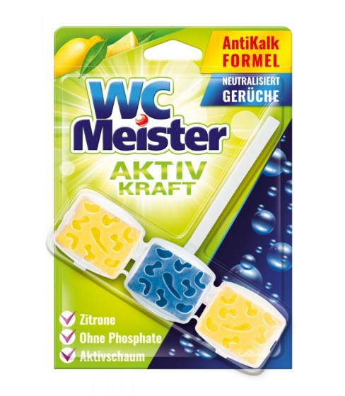 Zawieszka do toalety WC Meister - zapach cytryny